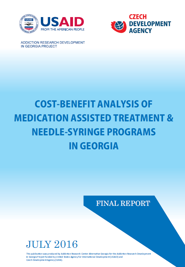Cost-Benefit Analysis Of Medication Assisted Treatment & Needle-Syringe Programs In Georgia