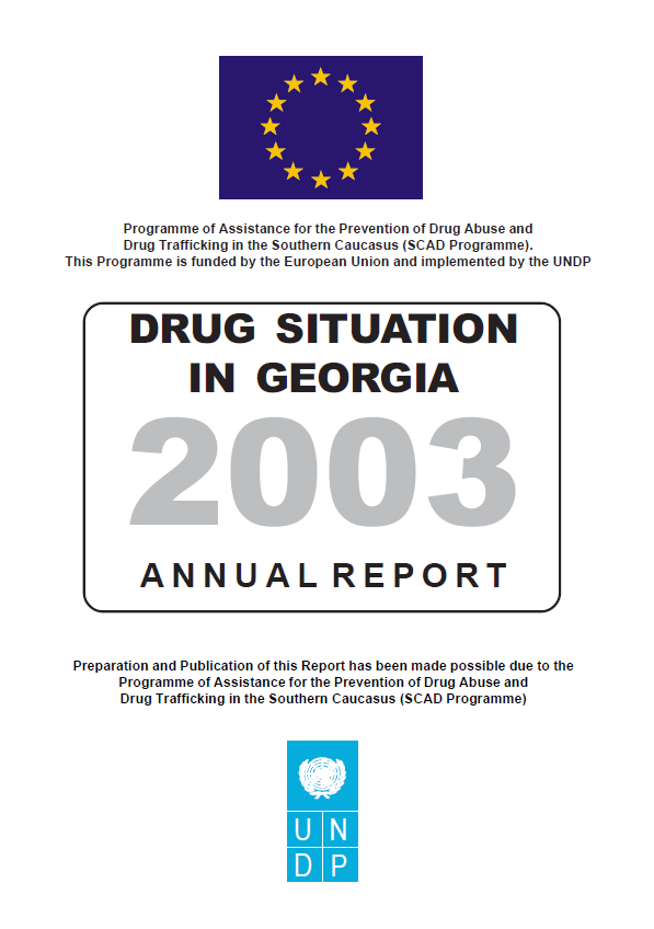 Drug Situation In Georgia 2003