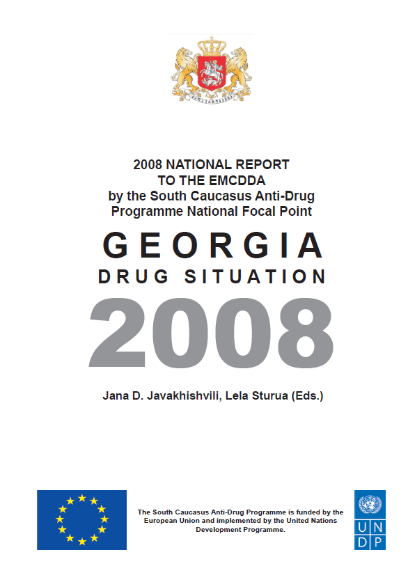 Drug Situation In Georgia 2008