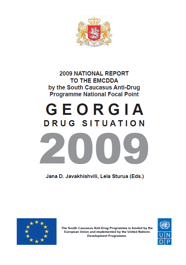 Drug Situation In Georgia 2009