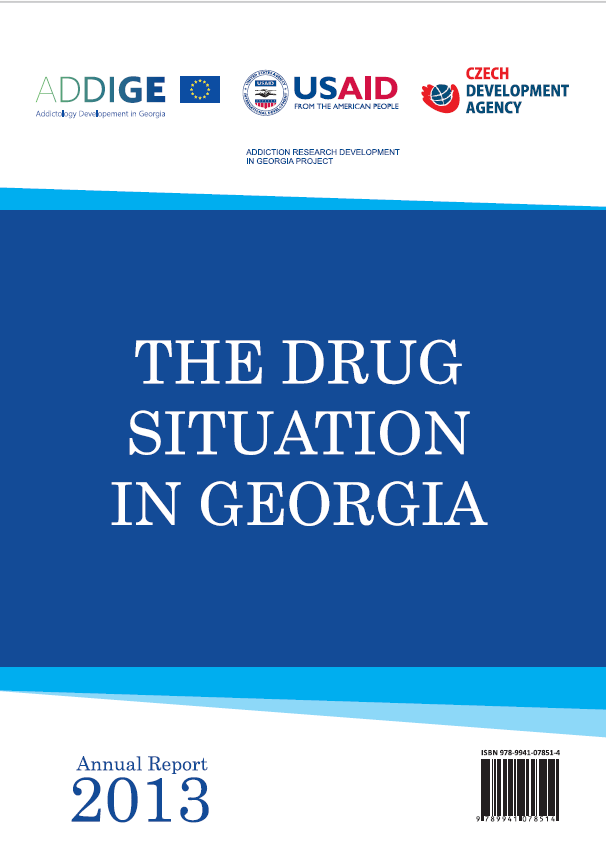 Drug Situation In Georgia 2013