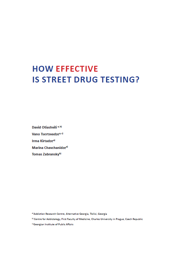 How Effective Is Street Drug Testing?